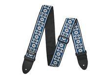 Dunlop Guitar Strap Avalon Blue Jacquard Woven