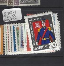 URUGUAY  (PP0501B)   SC 722-7, 729-733  MOG