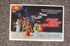 Battle Beyond The Stars Lobby Card Movie Poster George Peppard Richard Thomas