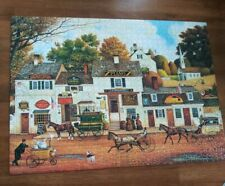 Charles Wysocki Olde Cape Cod 1000 Pieces Puzzle Used Complete Buffalo Games