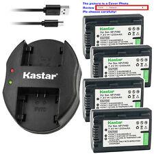 Kastar Battery Dual Charger for Sony NP-FH40 & Sony Cyber-shot DSC-HX1 DSC-HX100