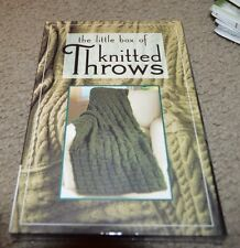 Little Box of Knitted Throws knitting patterns 20 patterns
