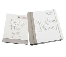 WEDDING PLANNER BOOK & SEATING PLAN SET - Organiser/Journal - Engagement Gift