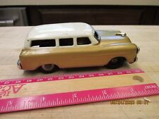 VINTAGE 1952? TIN TOY FORD STATION WAGON- JAPAN FRICTION