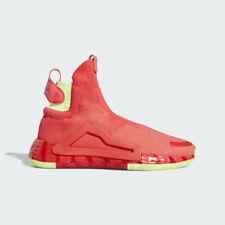 adidas N3xt L3v3l Shock Red Pink Yellow Next Level TRAE Men 14 Basketball Shoes