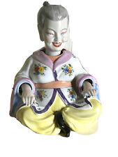 Dresde pagode extraños pueblos mujer wackelfigur porcelana de 22 x 17 x 17 cm Top