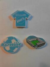 Lot de 3 gommes OM 100% Marseille