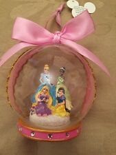 Disney Princess Christmas Ornament Decoration Bauble Tiana Cinderella Rapunzel