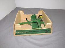 Vintage John Deere 1/16 Ertl Carry Dirt Scraper Bubble Box RARE Hard to FIND!