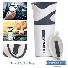 Hot Cold Coffee Travel Bottle Beverage Mug Tumbler Thermos Cup Leak Proof Lid