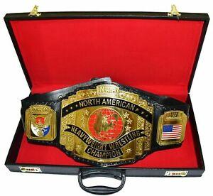 NWA North American Heavyweight Wrestling Champion Title Belt Replica Adult 4mm