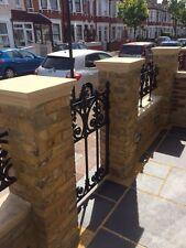 Cast stone pier caps 1.5 X 1.5 brick