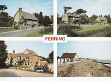 FERRING, WORTHING - MULTIVIEW COLOUR POSTCARD