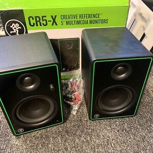 Mackie CR5-X monitors