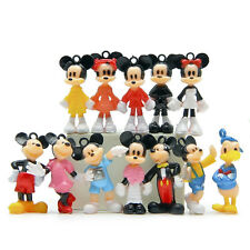 12pcs Disney Mickey Mouse Minnie Mouse Donald Duck Mini Figures Clubhouse