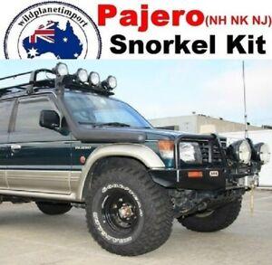 Snorkel Kit for Mitsubishi Pajero NH NK NJ V31 V32 V33 1990 to 97 4x4 diesel pet