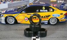 """XPG"" URETHANE SLOT CAR TIRE 2pr PGT-19104LM fit Holden Commodore & Ford Falcon"