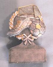 SOCCER award trophy  resin ball shoe net PDU53515GS