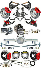 """NEW 2"""" DROP SUSPENSION & WILWOOD BRAKE SET,CURRIE REAR END,ARMS,POSI GEAR,687274"""