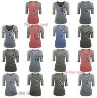 New MLB Women's League Excellence Fashion Baseball T-Shirt
