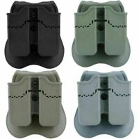 Double Magazine Pouch Holster for Glock 17 19 22 23 26 27 31 32 34 35 37 38 HY