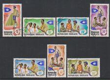 Togo - 1976, Togolese Scouts / Scouting set - F/U - SG 613/19 (d)