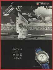 TAGHeuer 4000 Automatic Series watch 1995 Print Ad