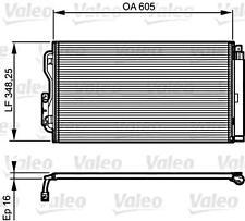 VALEO Air Conditioning Condenser Fits BMW I3 I8 F80 F31 F30 F20 64509218121