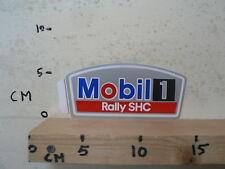 STICKER,DECAL MOBIL 1 RALLY SHC OIL ? RALLYE