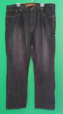 Men's NBN Gear Black Jeans W 42 L 32 Preowned  FREE SHIPPING!