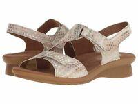 Women's Mephisto Paris Casual Sandal, Light Sand Lilas, EUR 42 (US 12) NWD / NWB