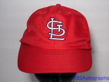 Vintage 1980s STL ST. LOUIS CARDINALS MLB BASEBALL Snapback Hat Trucker Cap