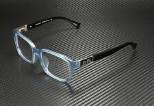 COACH HC6062F 5259 Milky Blue Black Demo Lens 53 mm Women's Eyeglasses