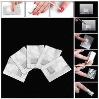 z. B. _ Glamourös 100 x Folie Nail Art Gellack Acryl Gel Politur Nagel Wickel