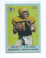2015 Topps Chrome FB 60th Anniversary #T60-BF Brett Favre Packers REFRACTOR #/99