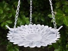 Shabby Chic Style Ornate Hanging Metal Bird Feeder