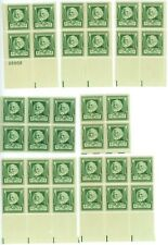 1940 1c US Postage Stamps Scott 864 Henry Wadsworth Longfellow Lot of 34