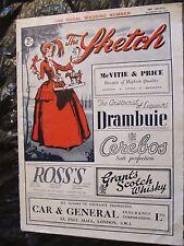 the sketch magazine 1947 royal wedding princess elizabeth  FREE SHIPPING