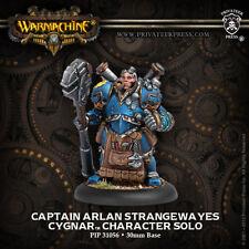 Warmachine: Cygnar Captain Arlen Strangewayes Character Solo PIP 31056 NEW