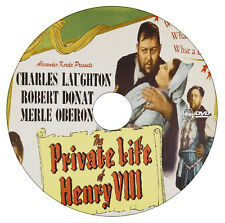 The Private Life of Henry VIII - Charles Laughton - Comedy, Drama - 1933 - DVD