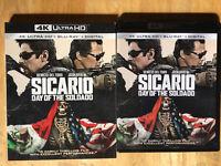 Sicario: Day of the Soldado (4K UHD + Bluray) No digital.