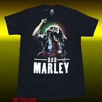 New Bob Marley Photo Rasta Reggae Mens Classic Vintage T-Shirt
