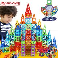 Magnetic Blocks 3D Construction Toys For Kids Children Educational Learn Play