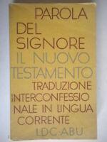 Parola del Signore il Nuovo testamento religione greco Vangelo Bibbia chiesa 03