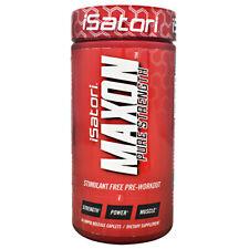 Isatori MAXON PURE STRENGTH Pre-Workout Maximize Strength - 84caps