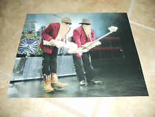 Zz Top Live 8x10 Concert Photo Combo #6 Billy & Dusty