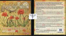 SHABBY CHIC - VICTORIAN BOTANICAL - 1 x Debbi Moore Designs CD Rom