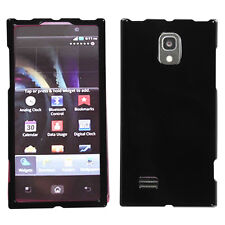 For Verizon LG Spectrum 2 VS930 HARD Protector Case Phone Cover Glossy Black