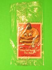 1977 McDonalds - Fun-To-Go *Test* - Bike Fender Sticker - Big Mac *MIP*