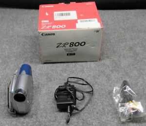 Canon Model ZR800 Mini Handheld Digital Video Camcorder 35x Optical Zoom